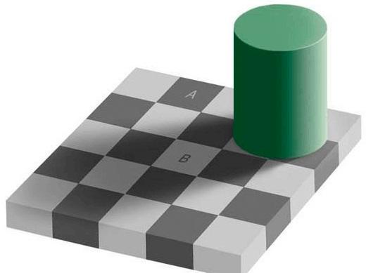 コントラスト効果のイメージ画像