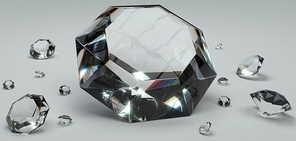 ダイヤモンド:貴重・希少のイメージ画像