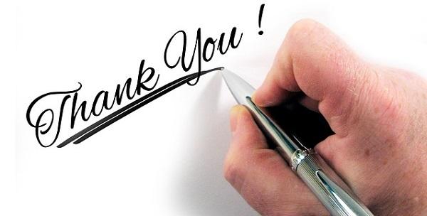 画像:感謝、ありがとう、好意、返報