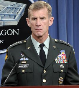 スタンリーマクリスタルアメリカ陸軍大将