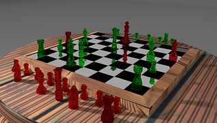チェス、配置ゲームのイメージ