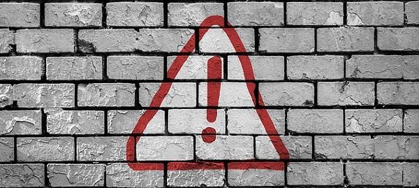 wi-fiが繋がらないトラブル、エラーメッセージのイメージ図