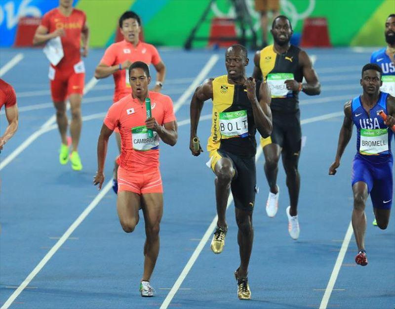 リオオリンピック男子400mリレー日本代表