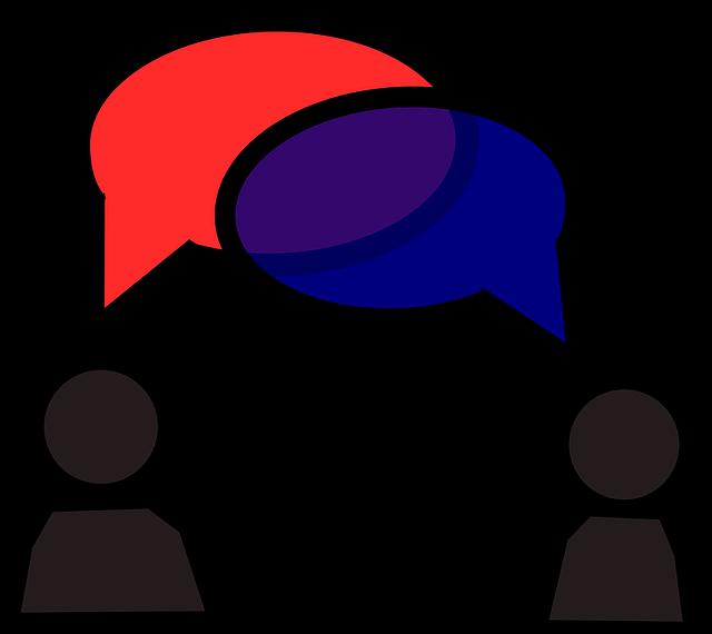 会話のイメージ