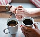 カフェでの対談