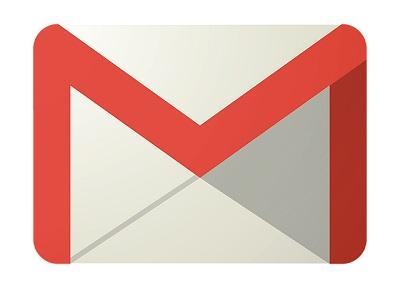 gmailのマークが描かれたイラスト