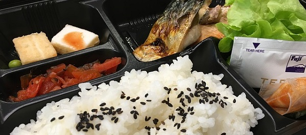 画像:日本の仕出し弁当