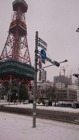 札幌の冬景色・昼