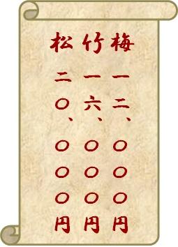 松竹梅の図5