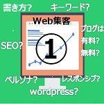 画像:「ネットビジネス初心者がweb集客を行うための方法①」のアイコン