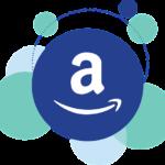 amazon風のロゴ