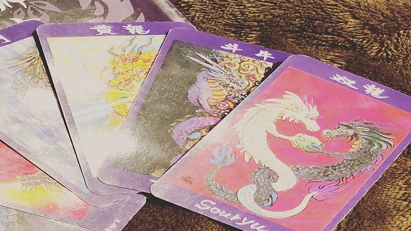 48種類の方の龍神カードの写真
