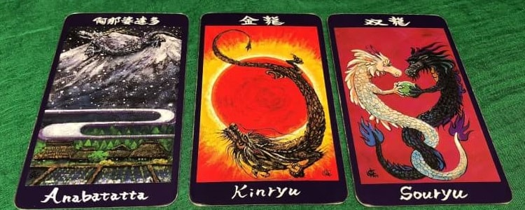 龍神カード:阿那婆達多・金龍・双龍