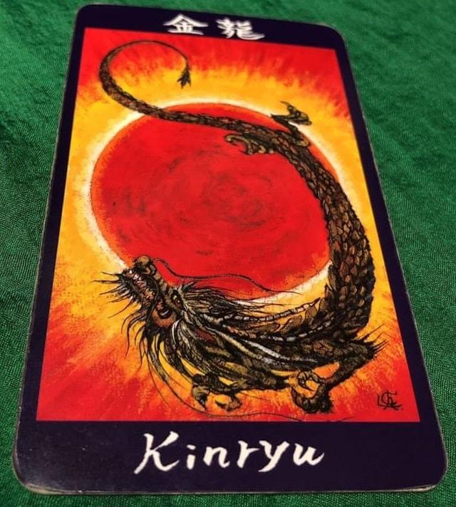 金龍の龍神カード